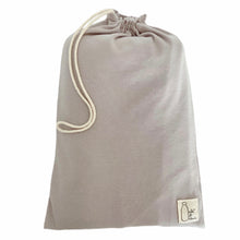 Load image into Gallery viewer, STONE GREY cotton stretchy baby wrap sling carrier (FREE SHIPPING UK)