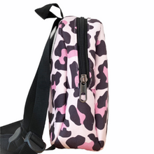 Load image into Gallery viewer, PINK LEOPARD kids backpack