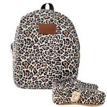 Load image into Gallery viewer, LEOPARD kids backpack