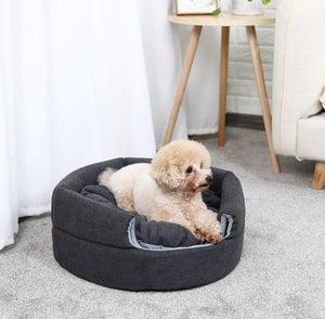2 In 1 Luxury Warm hous and Bed for Dog and cat