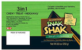 eCOTRITION Snak Shak Edible Hideaway for Hamsters, Gerbils, Mice and Small Animals, 3-in-1 Chew Treat and Hideaway
