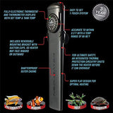 Cobalt Aquatics Flat Neo-Therm Heater with Adjustable Thermostat