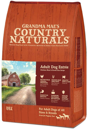 NEW Grandma Mae'S Country Naturals Food For Adult Dogs, 4-Pound Bag