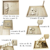 Wooden Hamster Living Playground
