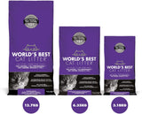 World's Best Lavender Scented Multiple Cat litter, 14 lbs