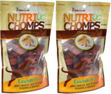 Nutri Chomps, dog food, mini knots chew whis chicken flavor
