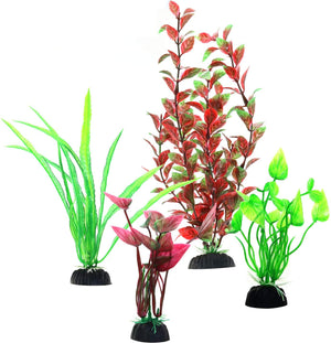 4pcs Simulation of Aquatic Plants, Grass Plastic Seaweed