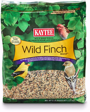 Kaytee 100061956 Finch Blend Wild Bird Food, 5 Pounds, None