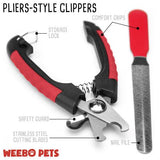 NEW Safety Guard Nail Clipper with File