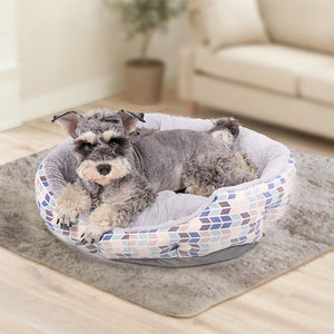 Bed for Dog or Cat, Soft Cozy Durable Mat