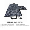NEW Dog Carriers Waterproof Rear Back Pet Dog Car Seat