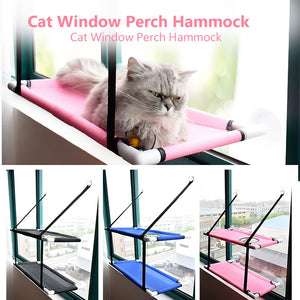 NEW Double Deck Hammock For Cats Pet Window Beds Seats