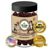 NEW Hemp Supplements for Dogs Anxiety Calming Bites with Beef Liver & Hemp