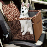 Car safety seat for dogs, carrier for travel, 5-15 kg dog