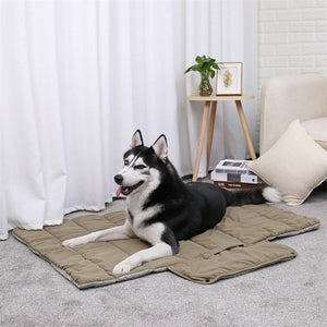 Bed Mat for dogs and cats, portable dog bed for travel