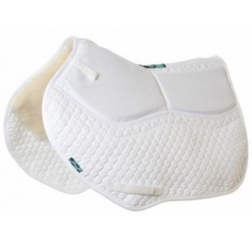 NuuMed HiWither Half Wool Shimmy Saddlepad - Close Contact (SP01SS CC)