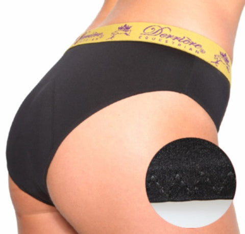 Derriere Equestrian Performance Padded Panty Black Female