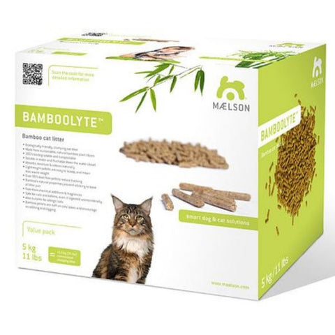 Maelson Bamboolyte Natural Bamboo Cat Litter