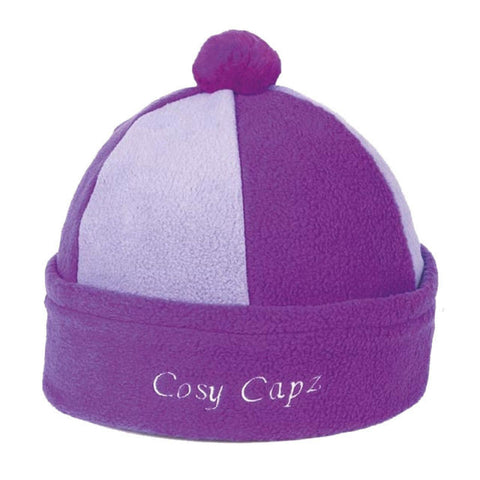 Fleece Cosy Capz Purple/Lilac