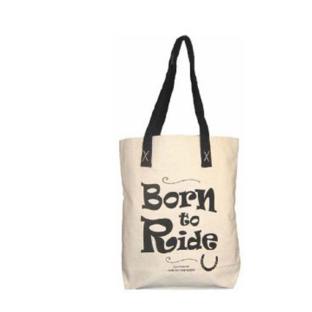 Moorland Rider Horsey Girl Shopper Bag