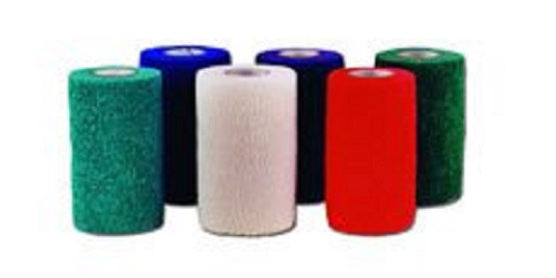 PowerFlex Bandages Rainbow Pack 10cm x 4.5m x 18 Pack
