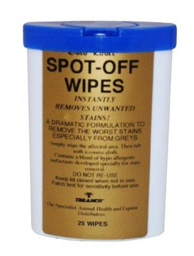 Gold Label Spot-Off Wipes
