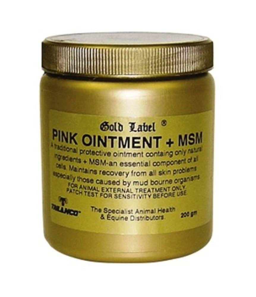 Gold Label Pink Ointment Plus MSM