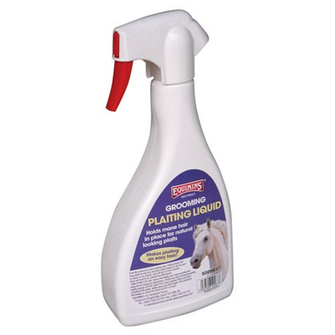 Equimins Plaiting Liquid Spray 500ML