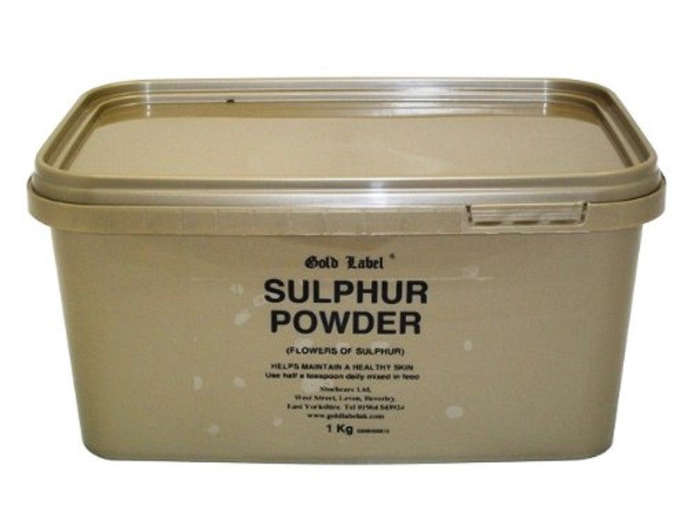 Gold Label Sulphur Powder 1KG