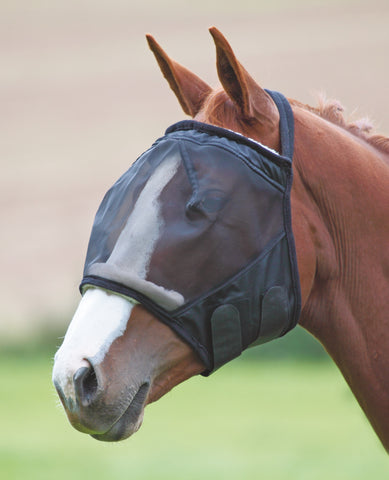 Shires Fine Mesh Earless Fly Mask 663
