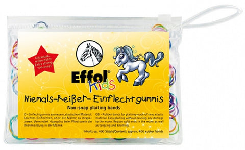 Effol Kids Non-Snap Plaiting Bands 400 bands