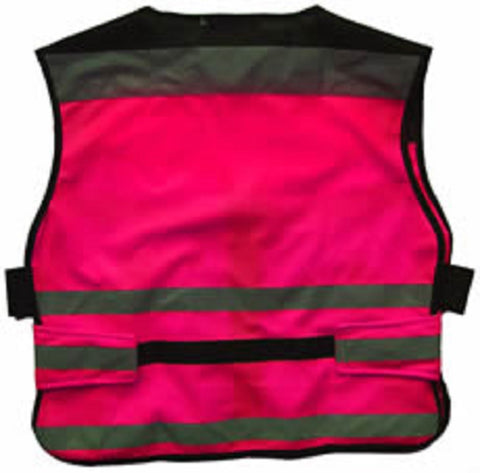Equisafety Air Waistcoat Plain Pink