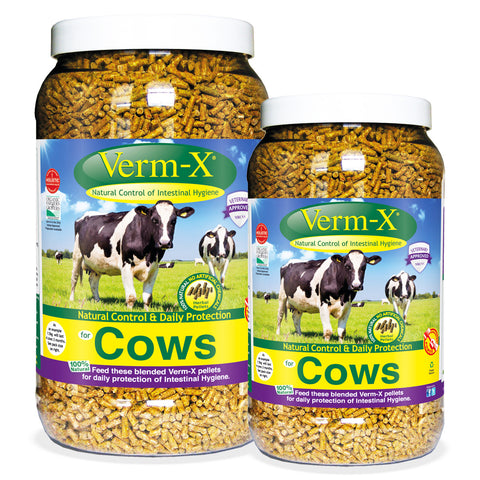 Verm-X Herbal Pellets For Cows