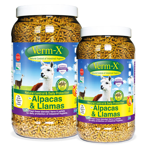Verm-X Herbal Pellets For Alpacas & Llamas
