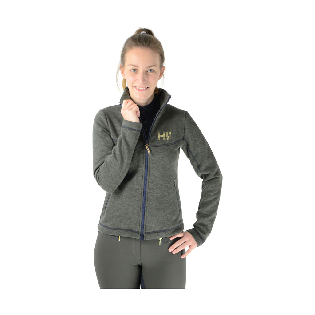 HyFASHION Edinburgh Ladies Jacket Olive Green/Midnight Navy
