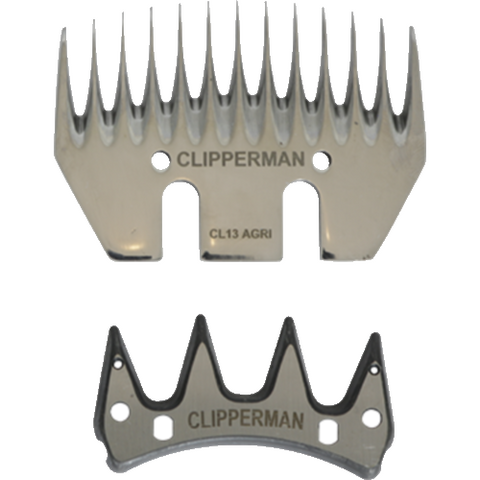 Clipperman CL13 Agri 13 Tooth German Steel Blade Set