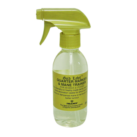 Gold Label Quarter Marker & Mane Trainer Spray 250ml