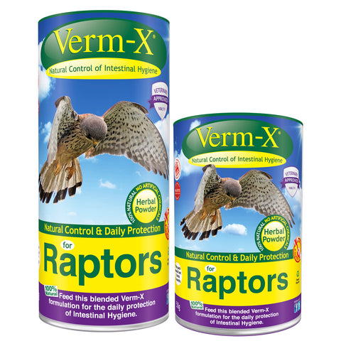 Verm-X Herbal Powder For Raptors