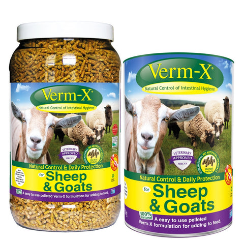 Verm-X Herbal Pellets For Sheep And Goats