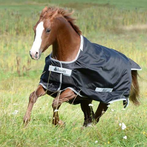 Bucas Smartex Rain Turnout Rug Black