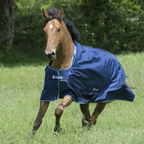 Bucas Smartex Rain Turnout Rug Blue