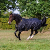 Bucas Irish Turnout Light/50 Rug Black/Gold