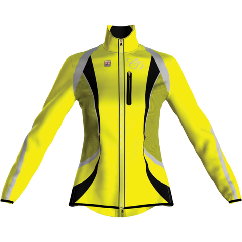 Equisafety Charlotte Dujardin Volte Waterproof Jacket Yellow Child