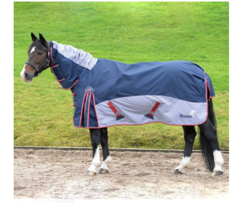 Masta Turnout Rug Fieldmasta 200g Fixed Neck
