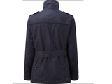 Caldene Country Jacket Figsbury Belted Wax Navy