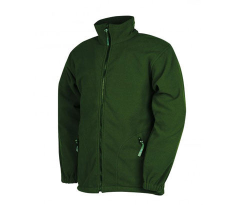Flexothane Classic Montana Fleece Coat Olive Green