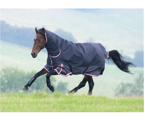 "Shires Highlander 200 Combo Turnout - 2 Tone Black 81"" / 6'9"" / 155cm"