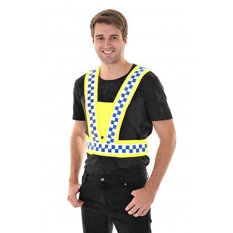 Equisafety Polite Hi Vis Reflective Body Harness