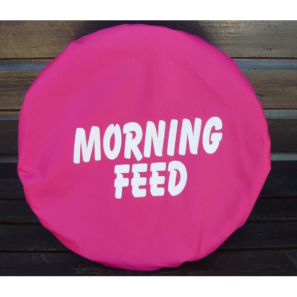 Spartan Equestrian Printed Waterproof Bucket Cover Morning Feed