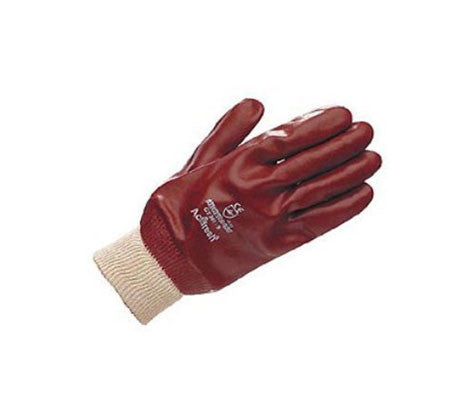 Ultimate PVC Fully Coated Gloves with Knitted Wrist Bands